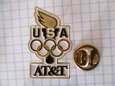 PINS RARE MOBILE TELEPHONY USA AT&T SPONSOR OLYMPIC GAMES JEUX OLYMPIQUES m1