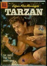 Dell Comics Edgar Rice Burroughs' TARZAN #93 GD 2.0