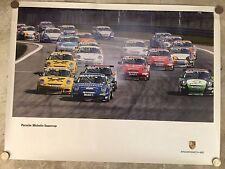 2006 Porsche 911 Carrera Supercup Series Showroom Advertising Poster RARE!! L@@K