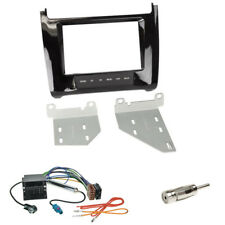 VW Polo 6c ab 2014 Doppel 2-DIN Autoradio Blende+ISO ADAPTER+Fakra Antenne piano