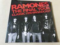 THE FINAL TOUR   RAMONES  Vinyl Double Album  PARA261LP rare live show punk