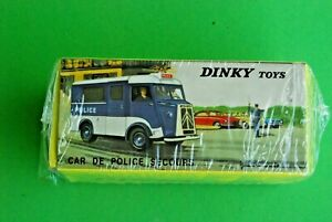 DINKY TOYS ATLAS HY CAR DE POLICE REF566 NEUF EN BOITE VITRINE JAMAIS OUVERT