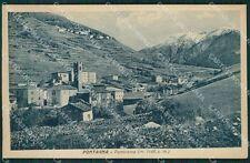 Brescia Valle Camonica Pontagna cartolina QK6930