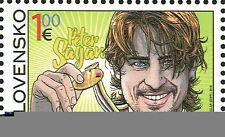 Briefmarken mit Radfahr-Motiven