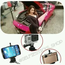 2 Selfiestick Pro Bluetooth Extendable Monopod for Iphone GoPro & Android phones