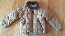 UGG Australia Down Coat Jacket Brown. Kids Children Boys. Size 4. Fur Collar.