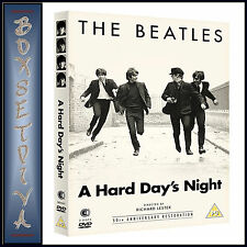 THE BEATLES - A HARD DAYS NIGHT - 50TH ANNIVERSARY **BRAND NEW DVD  ****