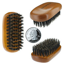 WavEnforcer Mini 100% Genuine Pure Boar Bristle Pocket Size Military Brush # 512
