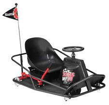 Razor Electric-Powered Drifting Crazy Cart Xl - High Powered Drift