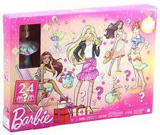 Barbie Adventskalender 2021 mit einer Barbie Puppe, Kleidung und Accessoires