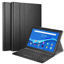 "For Lenovo Tab M10 HD TB-X505F / TB-X605F 10.1"" Stand Case w/ Bluetooth Keyboard"