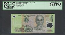 Viet Nam 100000 Dong 2017 P122n Uncirculated Graded 68