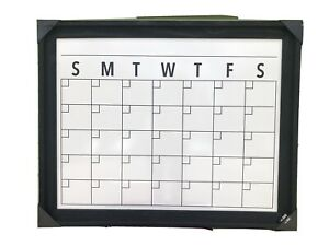 "New Ashland Dry Erase Board Weekly Monthly Calendar 🗓 Wall Mount 30"" X 24"" $60"