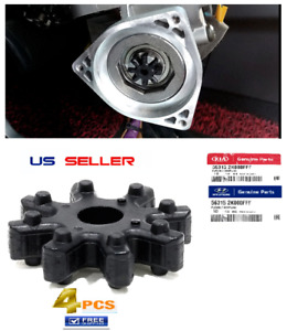 4PCS OEM Hyundai & Kia Genuine Flexible Steering Column Coupler Coupling 563152k