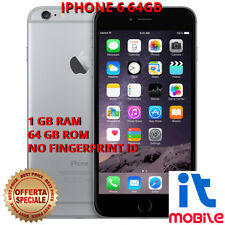 APPLE iPhone 6 64GB GREY No Fingerprint Ricondizionato Grado A+ Pari al Nuovo
