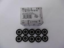 Eaton / Möller Tastenplatte flach schwarz M22-XD-S-X0 NEU OVP (VE 10)