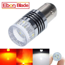1157 CREE 30W White/Amber Dual Color LED Bulb Switchback DRL Turn Signal Light
