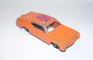 Antique Metal Car Dukes of Hazard Dixie General Lee Midgetoy Rockford Ill  USA