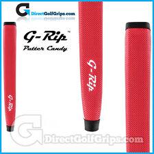 Feeltec g-rip fat Wave Jumbo putter grip pistolet léger-rouge + ruban