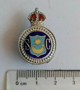 WW2 Portsmouth Special Constable police reserve badge Numbered 1352
