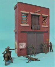 1/35 Factory/Warehouse Facade WW2, Modern or Zombie Apocalypse Diorama Building