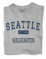 Seattle Washington WA T-Shirt EST