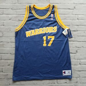 Vintage NEW 90s Golden State Warriors Chris Mullin Jersey by Champion Size 48