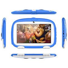 """7 """"Tablet PC da 8GB HD Android 4.4 Dual Camera WiFi Quad Core Regalo bambini blu"""