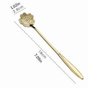 Stainless Steel Coffee Spoon Ice Cream Dessert Tea Stirring Spoon Kitchen Gadget