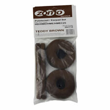 Sennheiser HD25 / HD 25 SP Velour Teddy Brown Replacement Ear Pad Set By Zomo