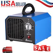 Commercial Ozone Generator 6000mg O3 Air Purifier Deodorizer Sterilizer Blue;