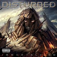 DISTURBED - IMMORTALIZED  CD NEUF