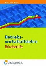 Set Büroberufe: Betriebswirtschaftslehre Büroberufe von ...   Buch   Zustand gut