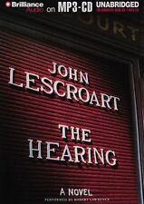 John LESCROART / The HEARING          [ Audiobook ]