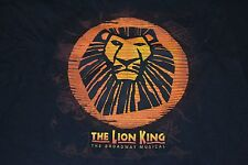 The Lion King Broadway Musical Disney Stage Play Toronto Canada T Shirt Medium