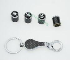 1SET Schlüsselbund Diebstahlschutz Reifen Stem Ventilkappen für Peugeot