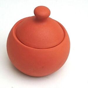 Decorative Burnt  Clay Sugar Jar Pot Spice  Home decor Ornament