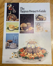 Vintage Tappen 30� Free Standing Gas Oven System Manual And Paperwork (1979)