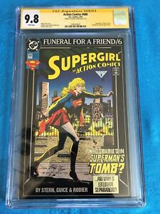 Action Comics #686 - DC - CGC SS 9.8 NM/MT - Signed by Roger Stern - Superman