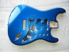 Genuine Fender Standard Stratocaster Strat Project Body MIM Rare Electron Blue