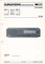 GRUNDIG - RF 630 - Service Manual - B3125