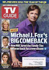 MICHAEL J. FOX ~~ TV Guide Magazine ~~ September 3-9, 2012 ~~ B-1-1