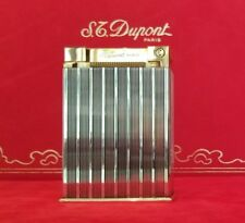 Rare S.T. Dupont Silver and Gold Jeroboam Table Lighter