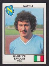 Panini - Euro Football 79 - # 386 Giuseppe Savoldi - Napoli