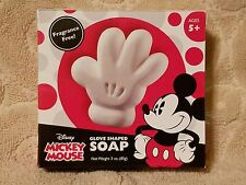 DISNEY***MICKEY MOUSE***Glove Shaped SOAP Fragrance Free~~~3 oz/85 g~~~NEW
