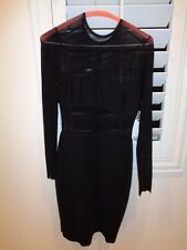 Bec & Bridge Alchemy Long Sleeve Mesh Dress Retail $225.00 SZ 2-NWT
