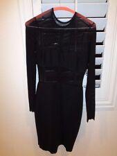 Bec & Bridge Alchemy Long Sleeve Mesh Dress Retail $225.00 SZ 2-NWT