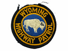 US Wyoming Highway Patrol Police Patch 2