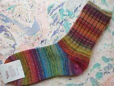 Tabio Japan Womens Socks Wool Multicolor Yarn Rib Crew Orange UK 4-6 EU 37-39.5