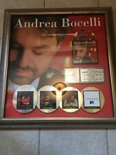 Andrea Bocelli RIAA Music Award Presented to Katie Kutscher